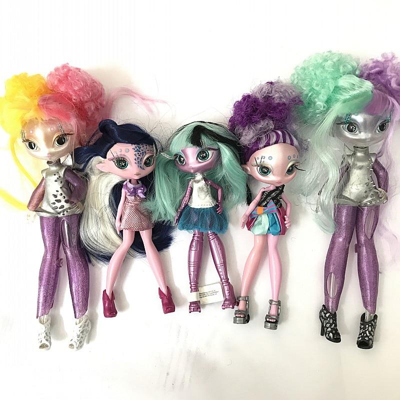 NEW Novi Stars Doll  Alien Princess Stars Dolls Transparent Body Multiple Element Set Christmas Birthday Gift Toys