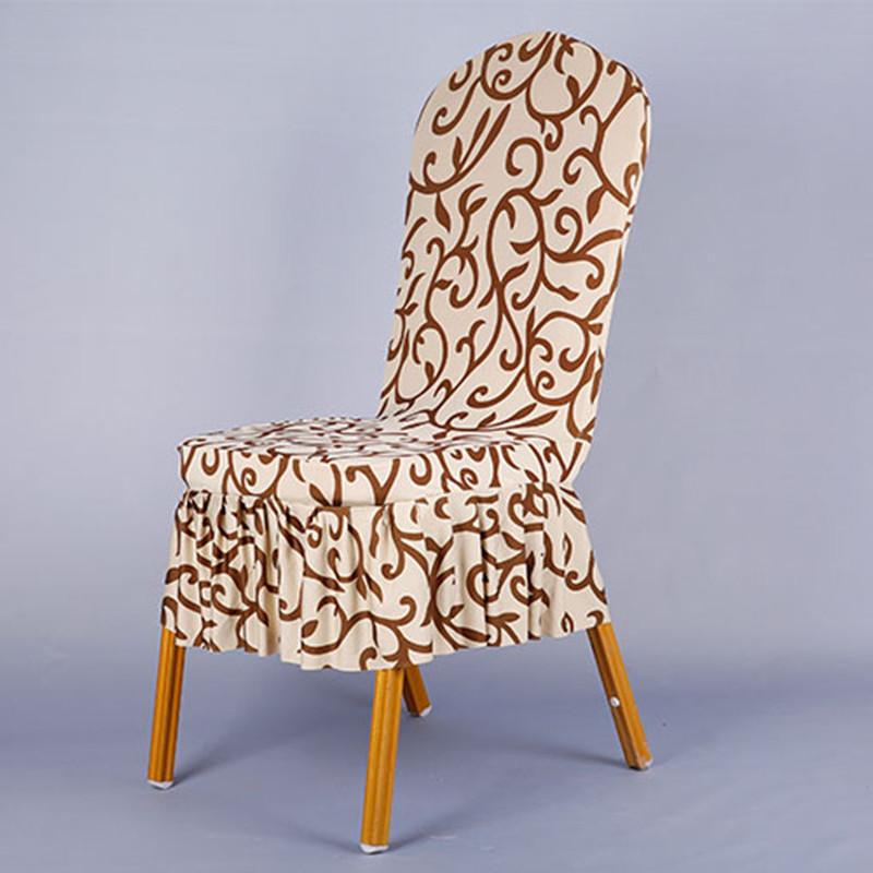 suave patrn spandex cubierta de la silla de comedor silla fundas para sillas de boda