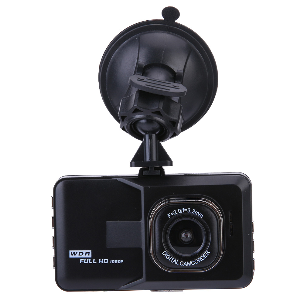New Original 3.0 inch Car DVR Camera Dashcam Full HD 1080P Video Registrator Recorder Black DVR G-sensor Night Vision Dash Cam