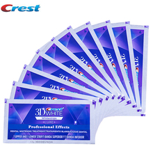NO BOXESs Crest 3D White LUXE oral hygiene teeth tooth whitening Professional whitestrips dental whiter 10 Pouches/20strips