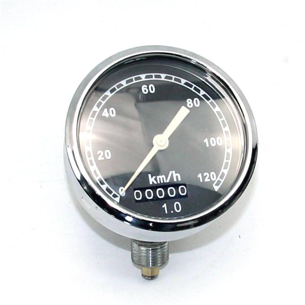 120 km Ural CJ K750 M72 retro round speedometer original style install at headlight case For