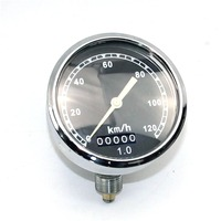 120 km Ural CJ-K750 M72 retro round speedometer original style install at headlight case For BMW R50 R1 R12 R 71