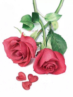 High Quality To Lovers Gift DIY 5D Flowers Diamond Painting Beautiful Rose Cross Stitch Kits