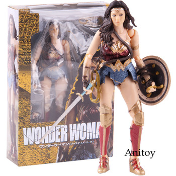Figure Anime Action Toy Super Pvc Hero Marvel Model Wonder Woman Avengers Collec