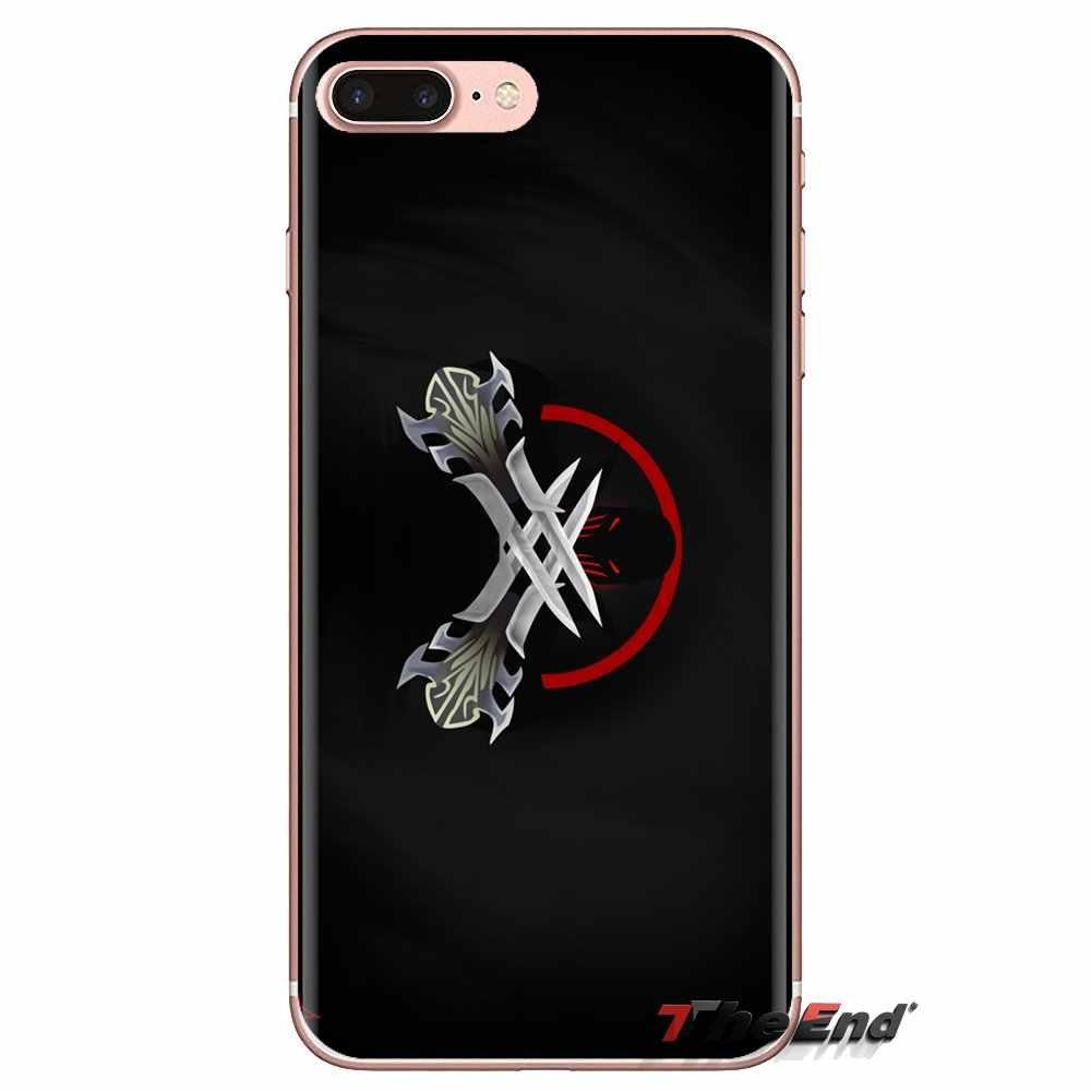 Cho Ipod Cảm Ứng iPhone 4 4S 5 5S SE 5C 6 6S 7 8 X XR XS Plus MAX Zed Trò Chơi Trong Suốt Mềm Có