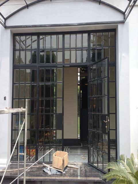 Aliexpress Buy Iron French Doors Hc Fd7 From Reliable Door