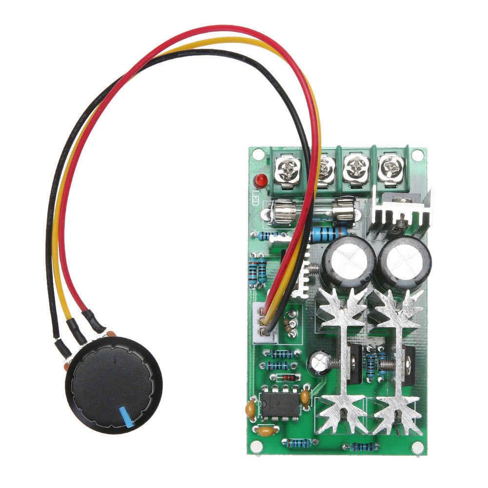 Module de contrôleur de vitesse de moteur de ventilateur PWM 1200 W 20A DC 12 V/24 V/36 V/48 V/60 V 25 KHZ livraison directe