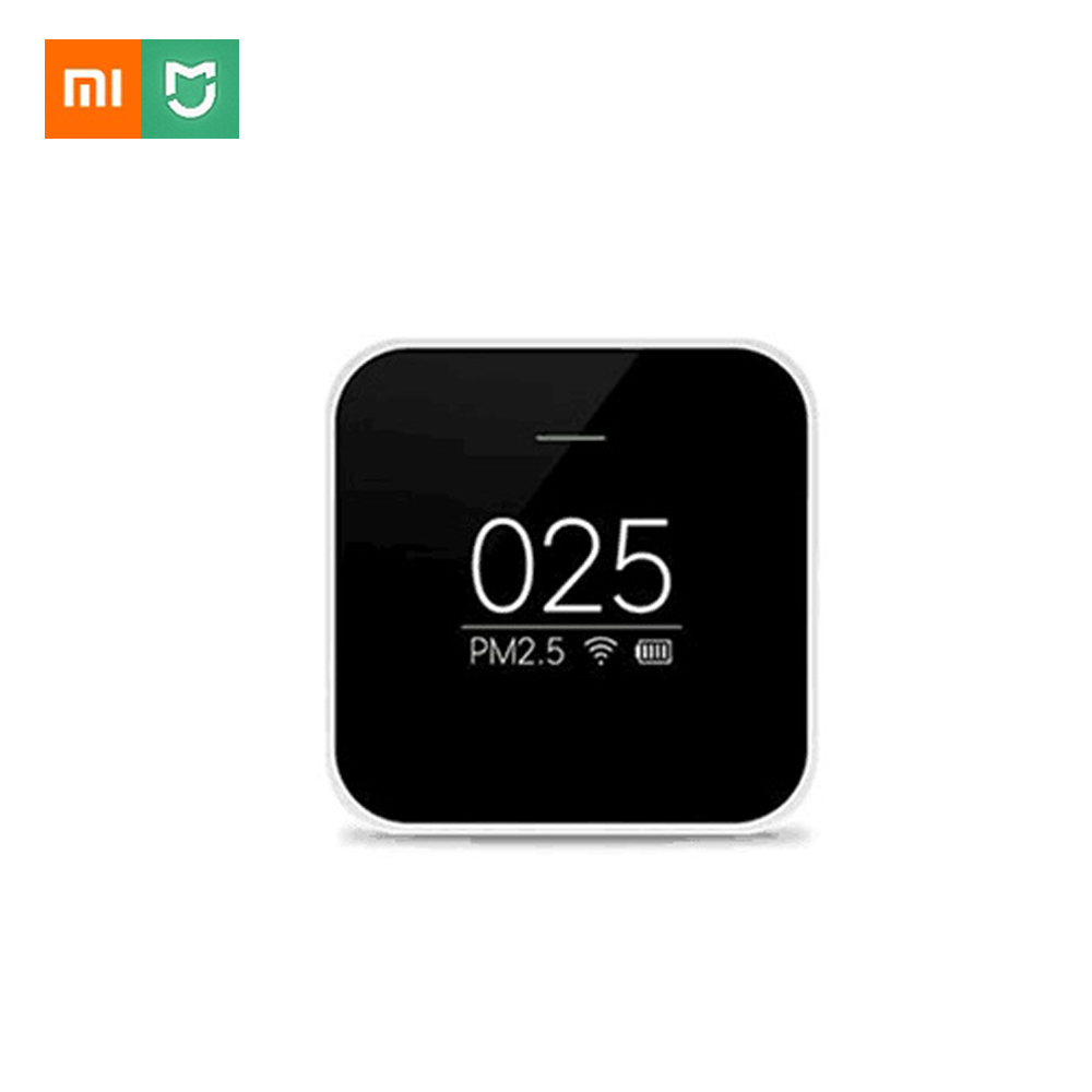 Xiaomi Mijia PM2.5 Détecteur Xiaomi Testeur de Qualité D'air OLED Écran D'air Haute Précision LaserSensor Contrôle Intelligent APPLICATION
