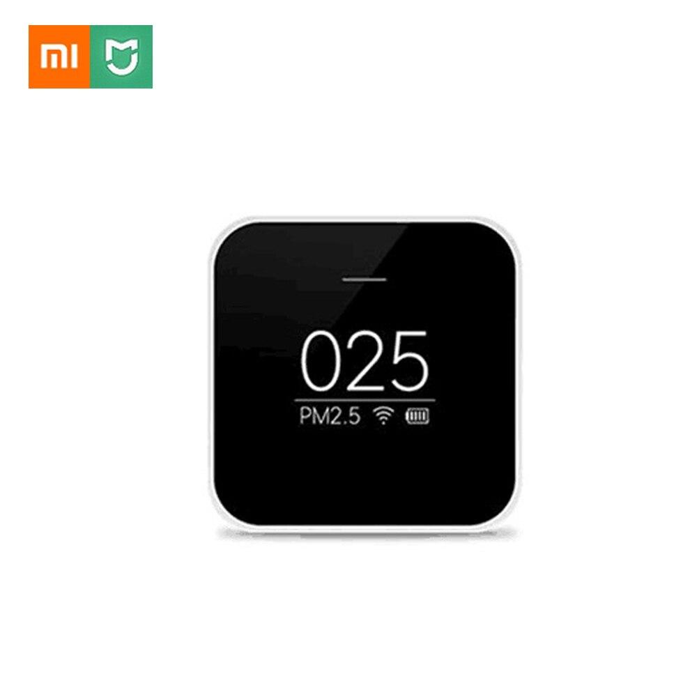 Xiaomi Mijia PM2.5 détecteur Xiaomi testeur de qualité de l'air OLED écran Air haute précision LaserSensor contrôle intelligent APP