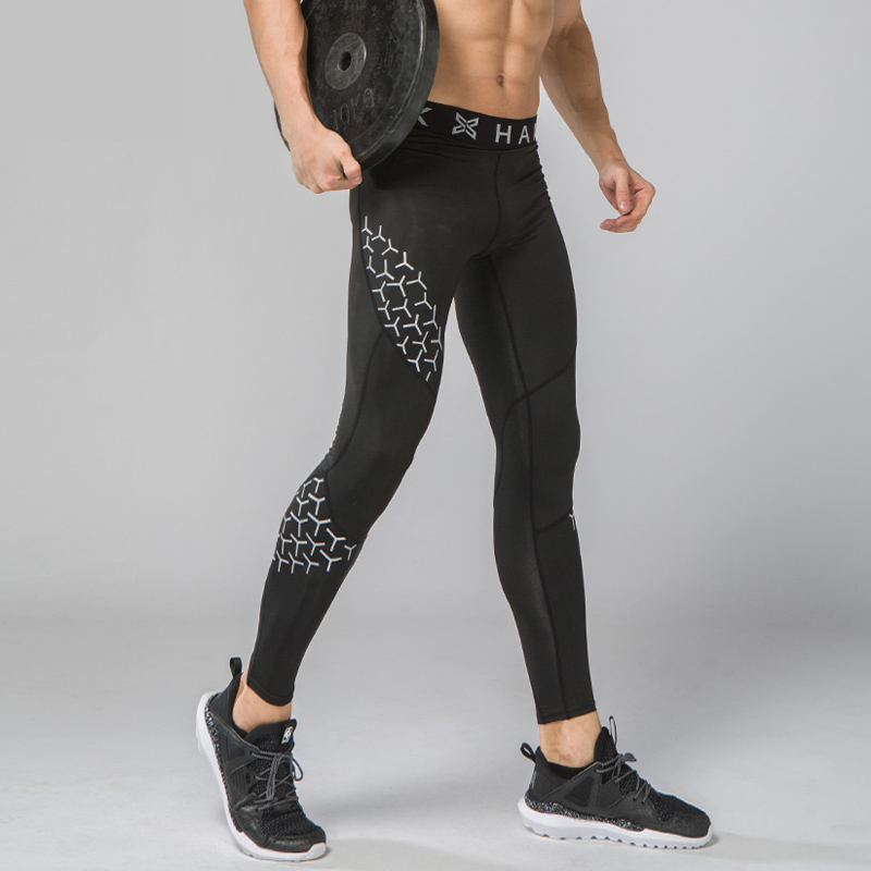 Mens Compression Pants Sport Tights Basketball Gym Trousers Bodybuilding Jogging tights Leggings Sportswear Mens Running Pants