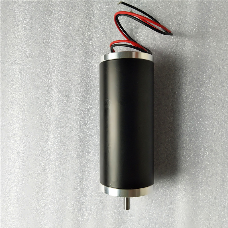 52ZYT03A 12V 24V 52mm 3000RPM 80W Permanent Magnet Brush DC Motor for Electric Bicycle or Robot