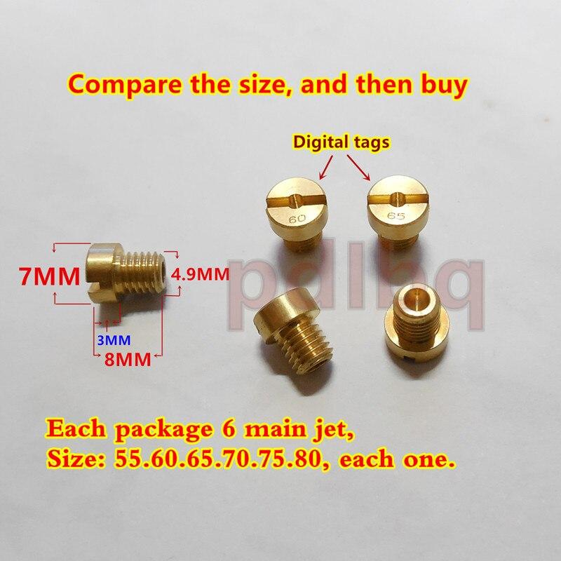 US $5 69 |(6 pcs/pack)DELLORTO Carburetor main Jets PHBG Carb JNC 5MM  thread main Injector nozzle for SHA Tomos A35 Targa LX Sprint on  Aliexpress com