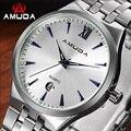 2016 Nova Amuda 2010 Relógios Homens Marca De Luxo Projeto Quente Esportes Militares Relógios de Pulso Amante Mulher De Quartzo Relógio de Aço Completo
