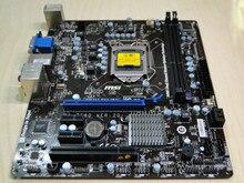 Бесплатная доставка 100% оригинал материнская плата для MSI H61M-E33 (B3) DDR3 LGA 1155 H61 16 ГБ Integrated H61M-E33 Рабочего Стола motherborad