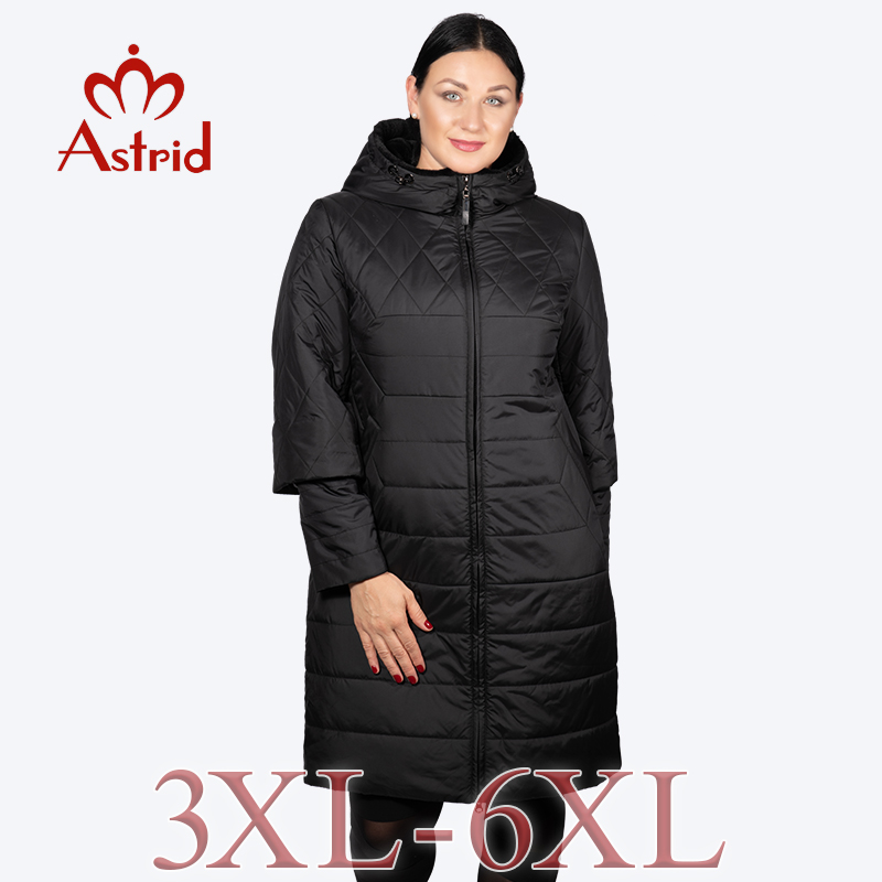 New Winter Jackets Coat Ladies Autumn Lengthy Parka Heat Hooded Excessive High quality Comfy Lengthy Coats Ladies Plus Sizes Astrid Am-5037