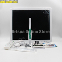 17inch high definition endoscopic dental intraoral camera monitor one machine with Sony camera and with holder