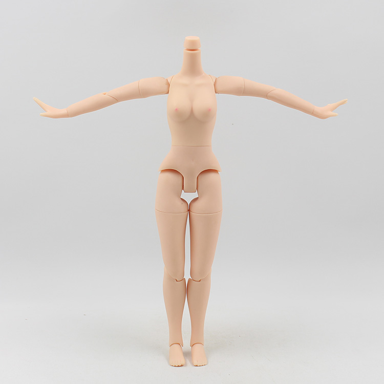 Free shipping on sale cheap DIY nude blyth doll BJD joint body 12 inch WHITE skin articulated body for 1/6 doll accessory uncle 1 3 1 4 1 6 doll accessories for bjd sd bjd eyelashes for doll 1 pair tx 03