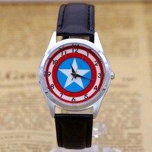 Captain America Watch Fashion Watches Quartz children Kids C