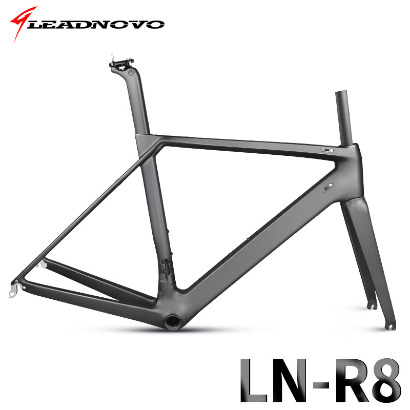 2018 NEWLY Ome Carbon Fiber Road Frame Di2&Mechanical Racing Bike Carbon Road Frame+fork+seatpost+headset Carbon Can Customized