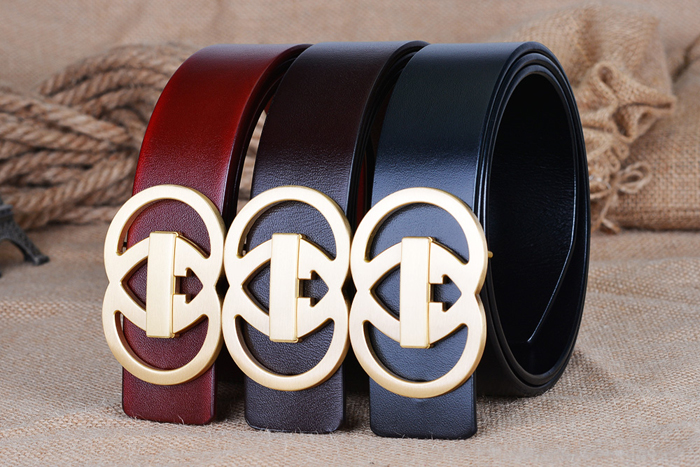 2018 new designer Luxury brand belt for ciartuar Genuine leather casual jeans special fashion solid brass buckle free shipping