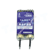 Tarot TL150F1 2.4G 8CH Receiver Support T6J/T8J/T10J/T14SG/T18SZ/18MZ for RC Multicopter