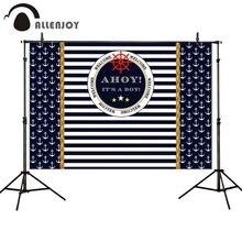 Allenjoy 사진 배경 앵커 탐색 스트라이프 거룩한 친교 생일 배경 photobooth photocall 배경 새로운 촬영