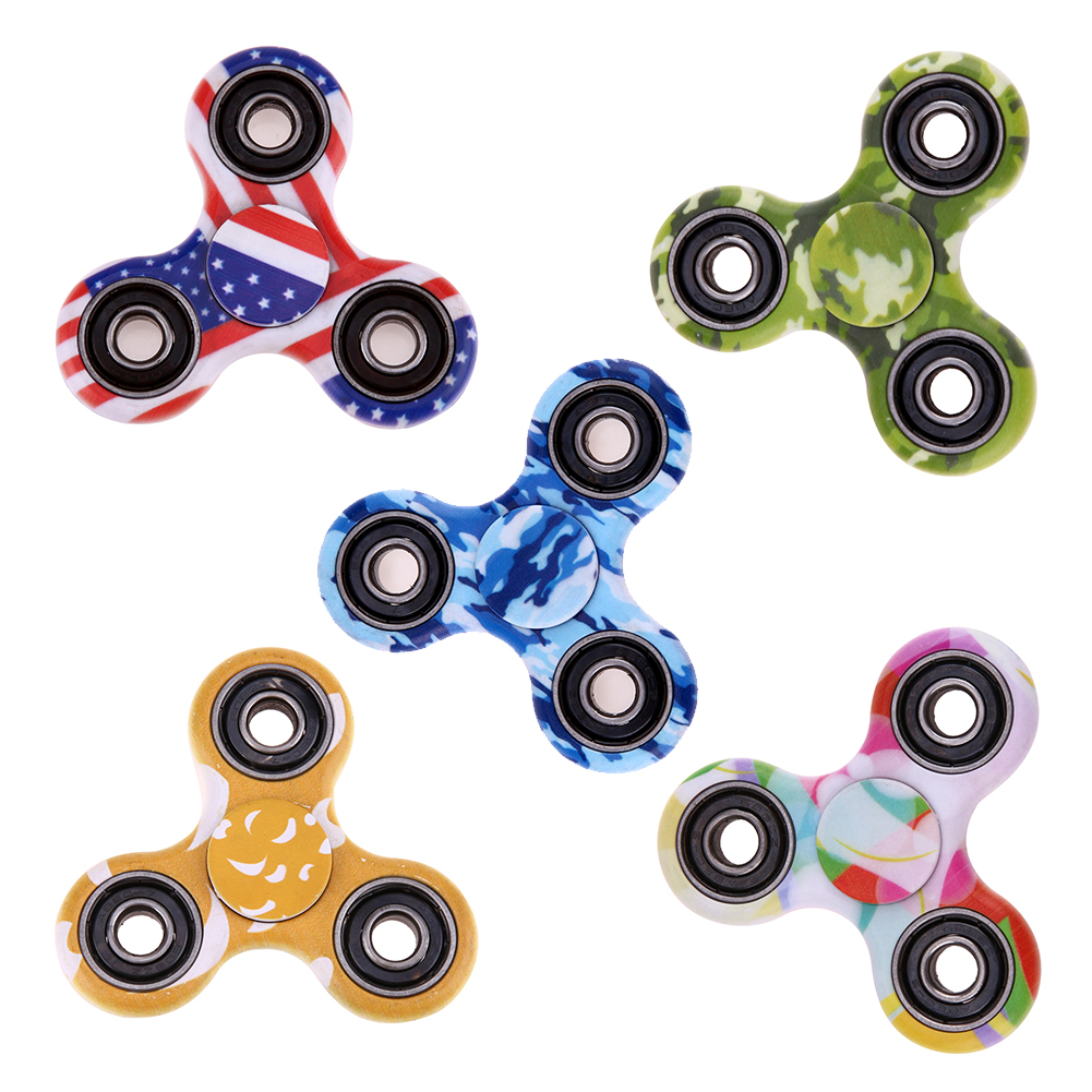 Tri-Spinner Fidget Rainbow Finger Hand Spinner EDC Tri Autism ADHD Anxiety Anti Stress Relief  Focus Toys luminous tri fidget hand spinner light in dark edc tri spinner finger toys relieve anxiety autism adhd for child