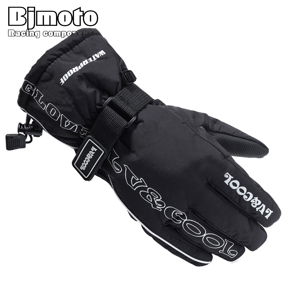 GLO-001 Motorcycle <font><b>Gloves</b></font> Winter Warm Waterproof Windproof Protective <font><b>Gloves</b></font> 100% Waterproof Moto Luvas Alpine Motocross Stars