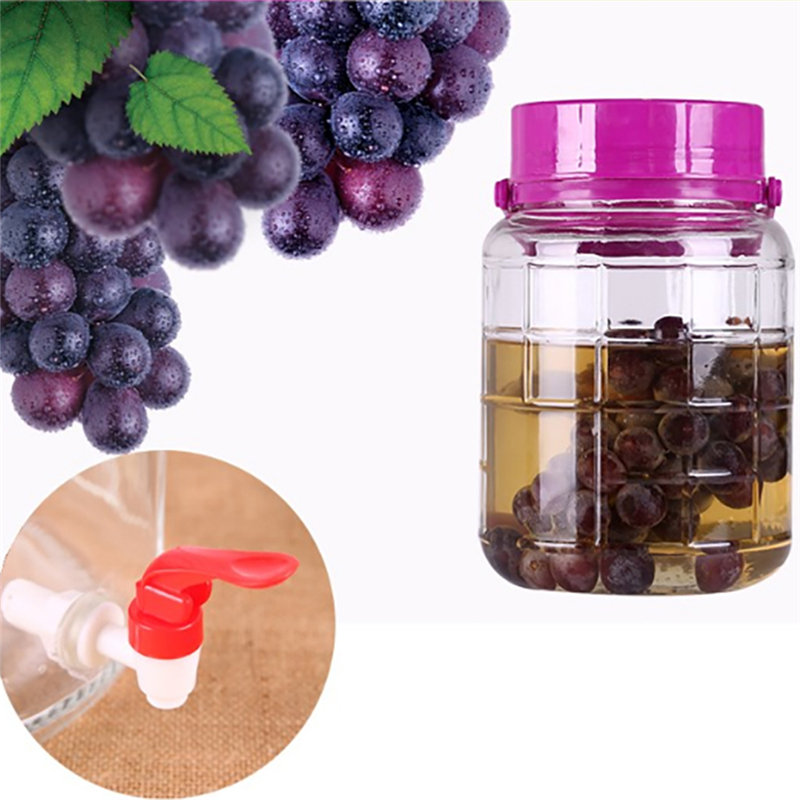 Glass Wine Bottle Plastic Faucet Wine Jar Wine Barrel Water Tank Special Faucet With Filter Wine Valve Water Dispenser Switch