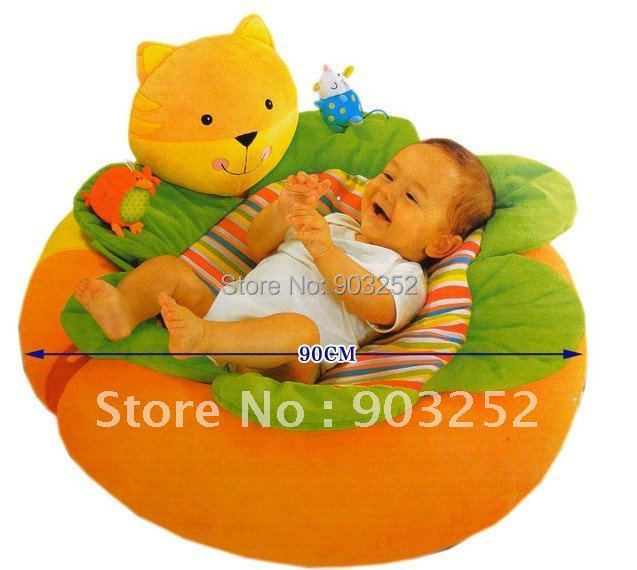 Animal cat Sunshine Garden Sit Me Up Cosy - Cartoon Infant Inflatable sofa/Baby seat  sc 1 st  AliExpress.com & Animal cat Sunshine Garden Sit Me Up Cosy Cartoon Infant Inflatable ...