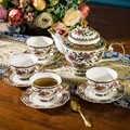 Европейский костяной фарфор, американский набор кофейных чашек, британский бытовой набор фарфорового чайника, послеобеденный набор чайных...