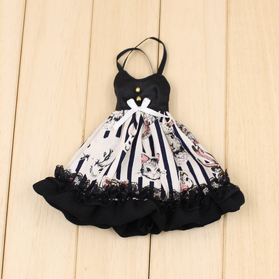 2019 Blyth Dolls Clothes Fashion 1/6 Blyth Dress Carton Skirt Suitable Blyth 1/6 Doll Normal , Joint ,azone ,licca Body,icy Doll