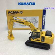 Collectible DieCast Toy Model 1:50 Scale Komatsu PC200-10 Hydraulic Excavator Construction Vehicles Model for Decoration,Gift