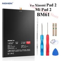 Nohon Battery For Xiaomi Pad 2 BM61 Pad2 Mi Pad 2 6010mAh 6190mAh built in High Capacity Bateria Li polymer Batteries Free Tools