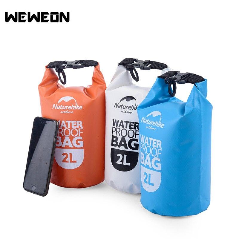 Sac imperméable de voyage de téléphone portable sac de natation extérieur sac de cachetage en amont de dérive de sable