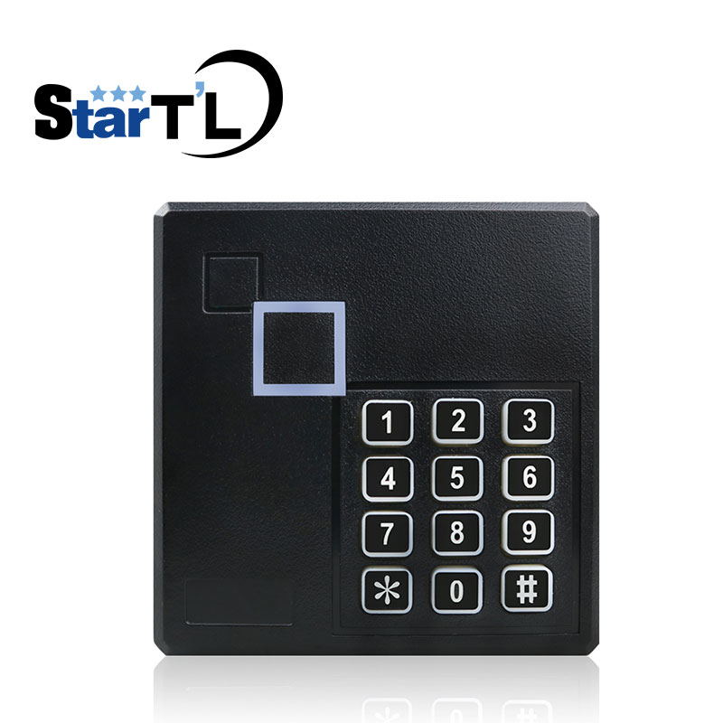 Waterproof Card & Password Slave Reader Wiegand Card Reader for Door Access Control System keypad Rfid Reader original access control card reader without keypad smart card reader 125khz rfid card reader door access reader manufacture