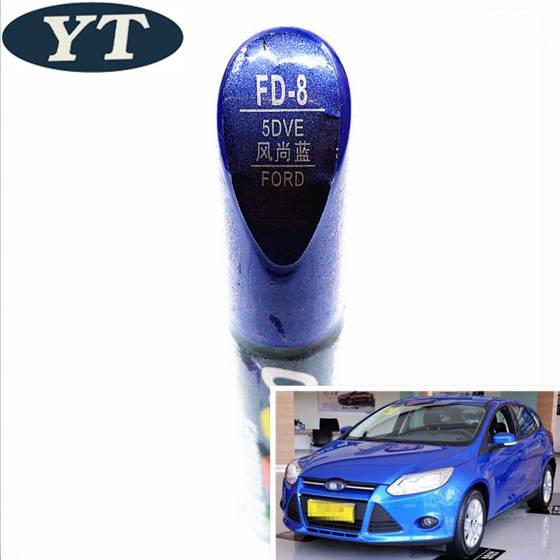 Car Scratch Repair Pen, Auto Paint Pen BLUE Color For Ford Ecosport,kuga, Focus,s-max,fiesta ,car Painting Pen