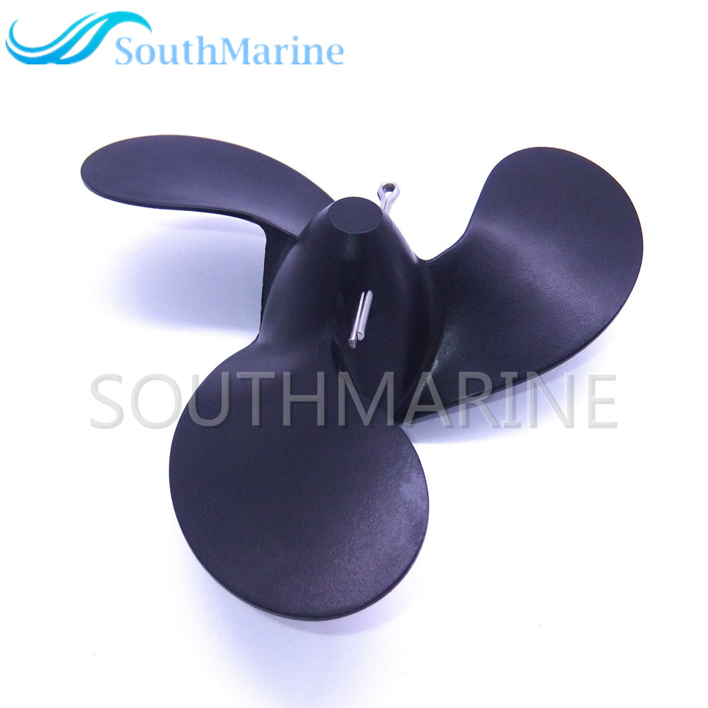 58111-98452-019 Aluminum Propeller 7 1/2x4 3/4 For Suzuki DT 2HP 2.2HP 2.5HP Outboard Engine (3X188) A500 4-3/4