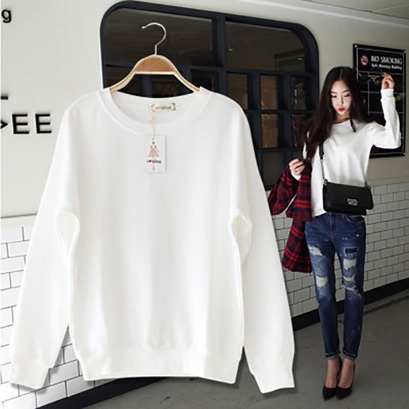 2018 Autumn Casual women Hoodies Sweatshirts