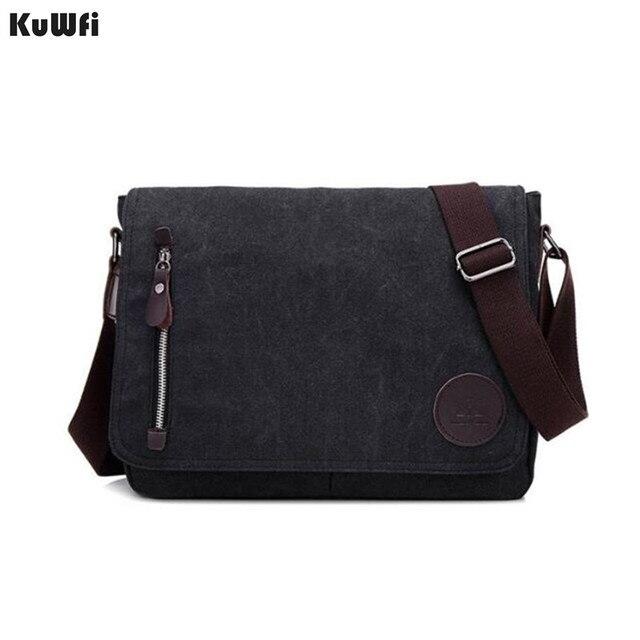 New Arrival Men Laptop Shoulder Bag Mens  Canvas Business Computer Bag luxury Designer Briefcase File package Travel Leisure