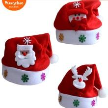 Gorro Navidad Christmas Hats Adult Cap Santa Hat Kerst Decoratie New Year Decoration Noel Deals