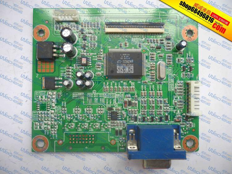 Free Shipping> L191 logic board PTB-1732 6832173200P01 driver board / motherboard-Original 100% Tested Working free shipping x203h logic board ptb 2103 6832210300p01 driver board motherboard original 100% tested working