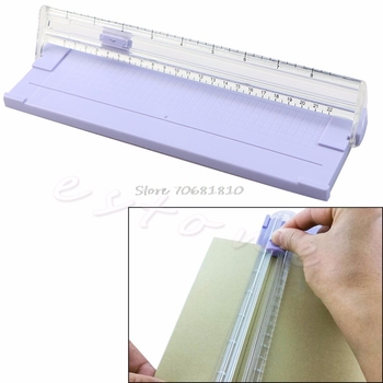 A4 Precision Paper Card Trimmer Ruler Photo Cutter Cutting Blade Office Kit #R179T#Drop Shipping