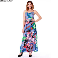 Sexy-strap-women-abstract-floral-print-dress-Fashion-V-neck-backless-maxi-dress-women-Casual-side-split-elastic-long-dress-beach-2