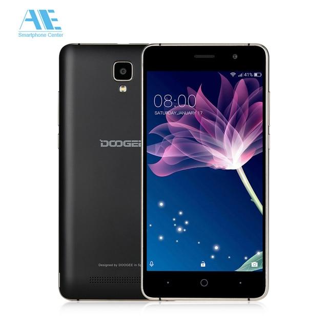 Original Doogee X10 MT6570 Android 6.0 Mobile Phone 5.0 Inch IPS 512M RAM 8GB ROM Smartphone 3360mAh WCDMA 3G Unlock CellPhone