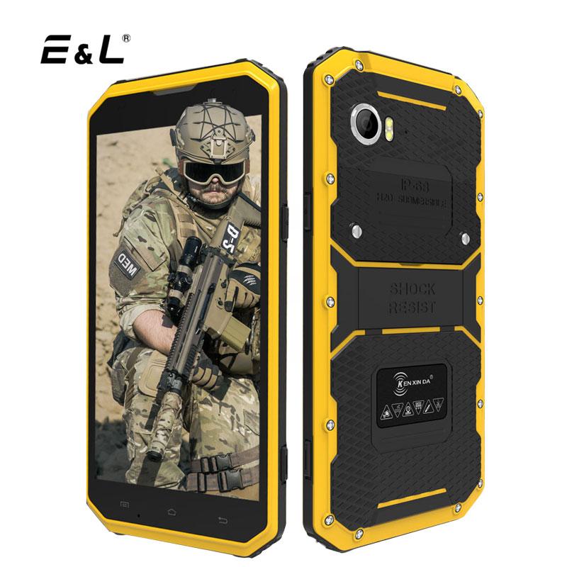 E L W9 Smartphone Shockproof 6 Inch FHD 2GB RAM 16GB 8 0MP MTK6753 Octa Core