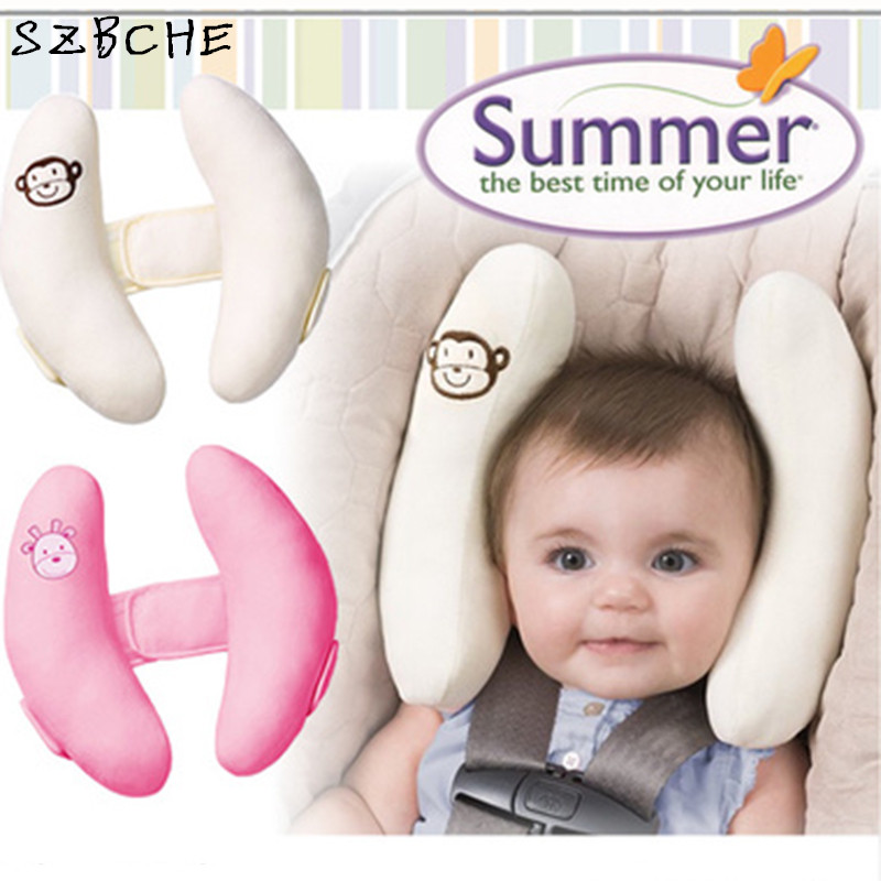 0 5 Years Head Support Baby Car Seat Pillow Trolleys Adjustable Child Care Occipital Headrest Trade Neck