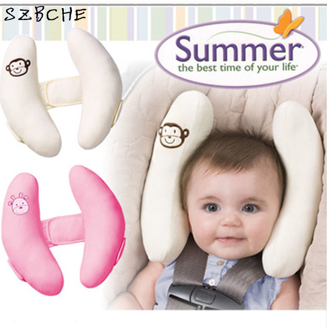 0 5 Years Head Support Baby Car Seat Pillow Trolleys Adjustable Child Care Occipital Headrest