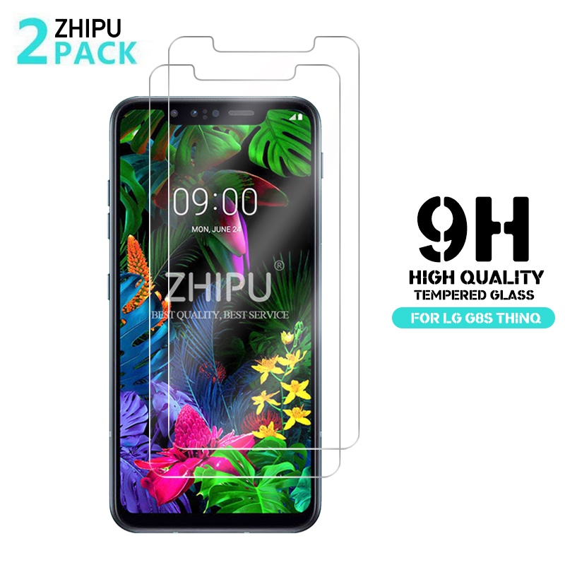 2 Pcs Tempered Glass For LG G8s G8X ThinQ 2019 Glass Screen Protector 2.5D 9H Tempered Glass For LG G8s ThinQ Protective Film
