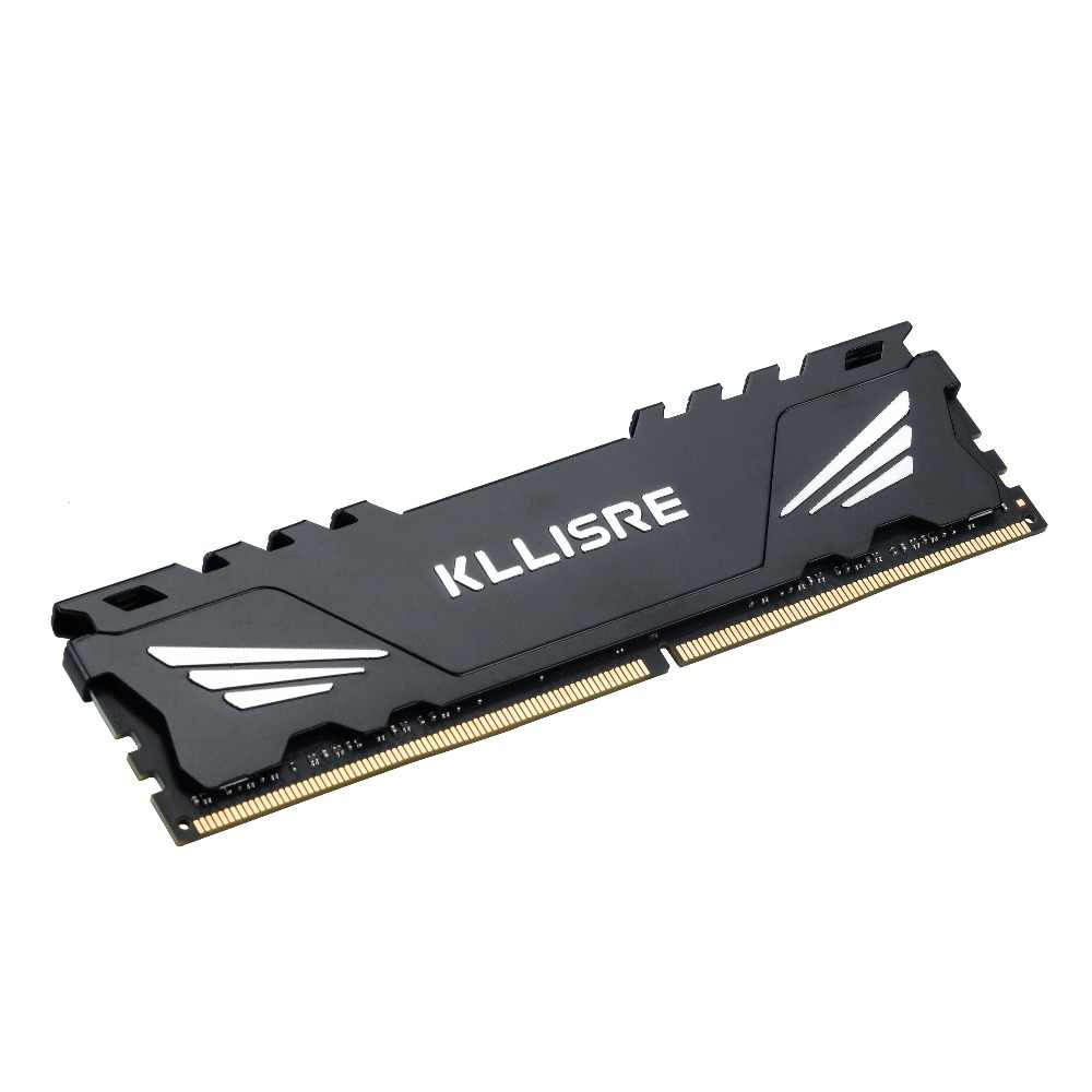 Kllisre Ram DDR3 4 ギガバイト 8 ギガバイト 2 ギガバイト 1333 1600 メモリアラムデスクトップメモリヒートシンク 240pin 1.5 12v 新 dimm